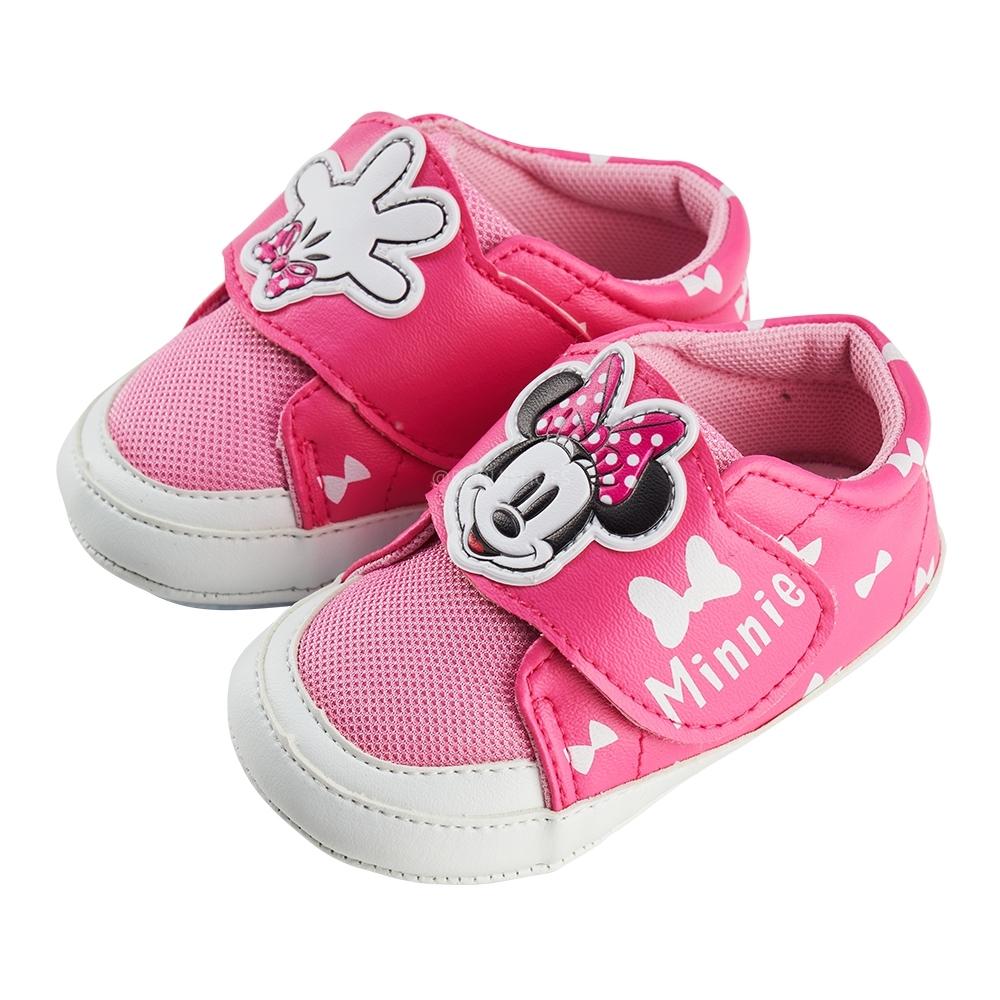 迪士尼童鞋  米妮  造型休閒小童學步鞋-桃