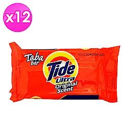 美國Tide 洗衣皂-經典原味(130g)-12入組