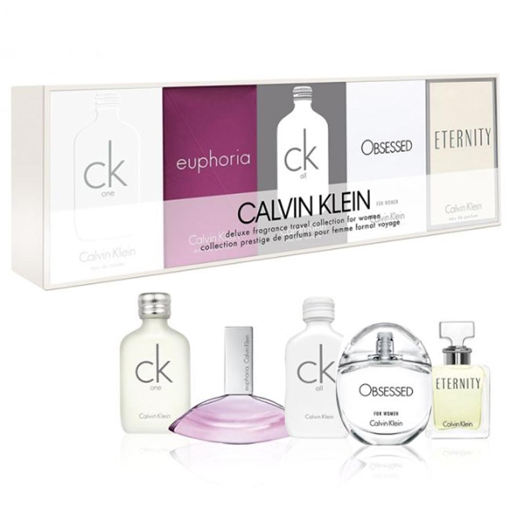 Calvin Klein 女性小香水禮盒5入組-快速到貨