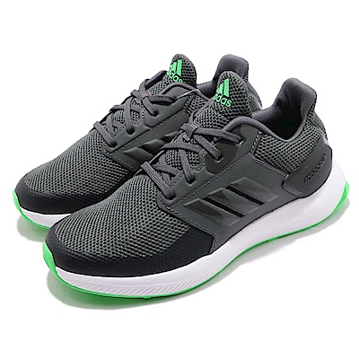 adidas 慢跑鞋 RapidaRun 運動 童鞋