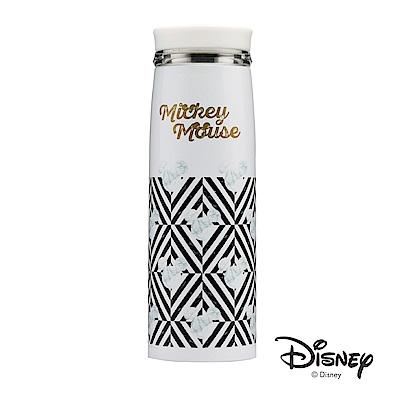 迪士尼Disney原始紋理輕量#304不鏽鋼真空保溫瓶390ml(快)