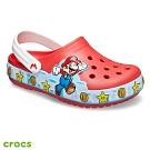 Crocs卡駱馳 (童鞋) 趣味學院超級瑪利歐酷閃小克駱格 206438-8C1