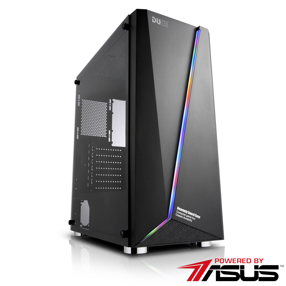 華碩B365平台 [波風俠士]i5六核RTX2060獨顯SSD電玩機