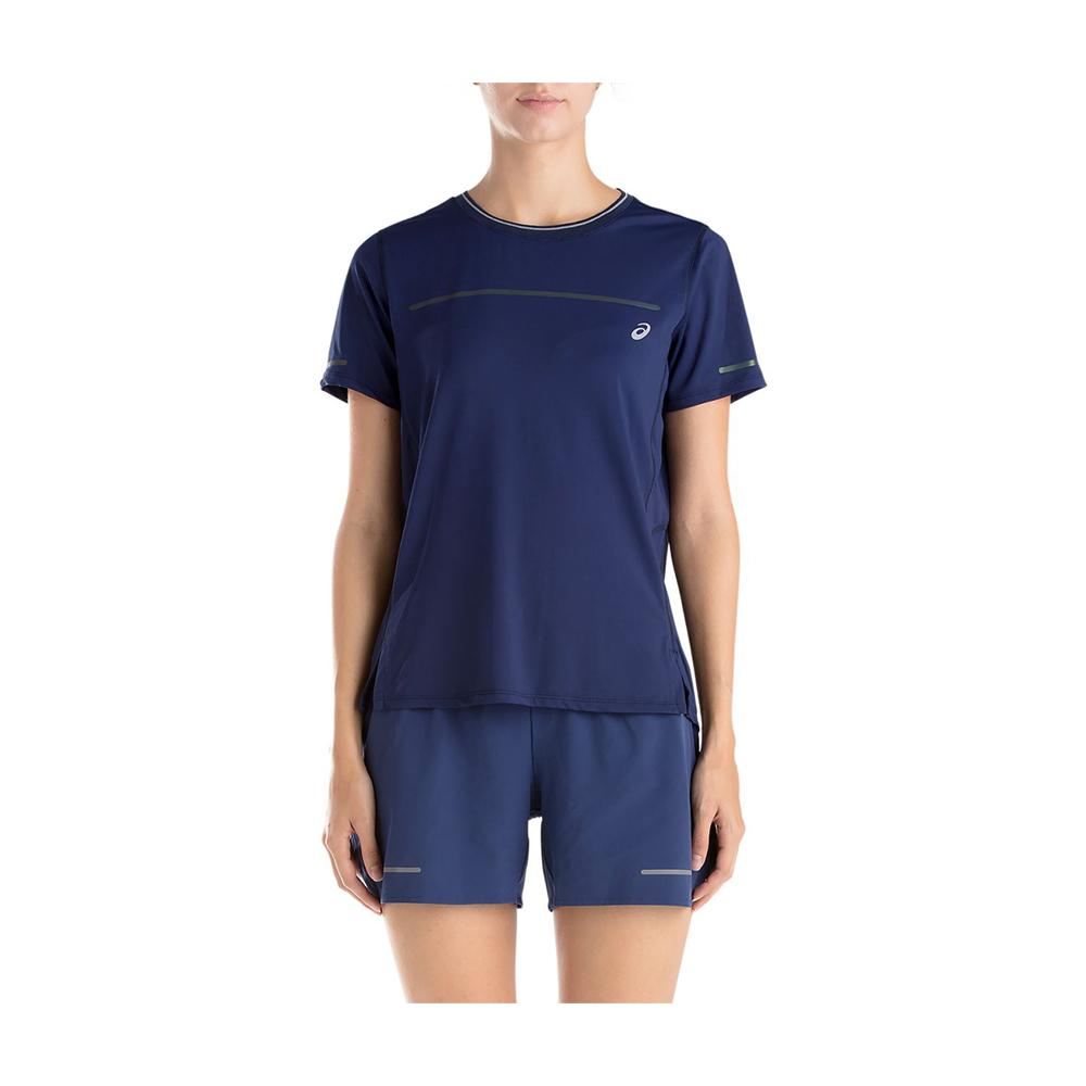 ASICS 女LITE-SHOW短袖上衣 2012A390-401