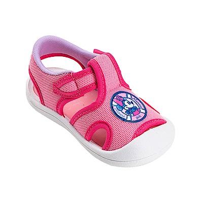 迪士尼童鞋 米妮 輕量護趾涼鞋-粉