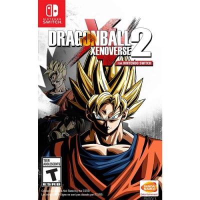 七龍珠 異戰 2 DRAGON BALL-Nintendo Switch 英日文美版