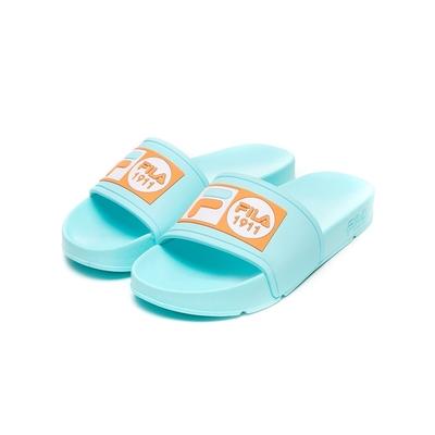 FILA POP SLIDE 男/女拖鞋-藍綠 4-S351V-336