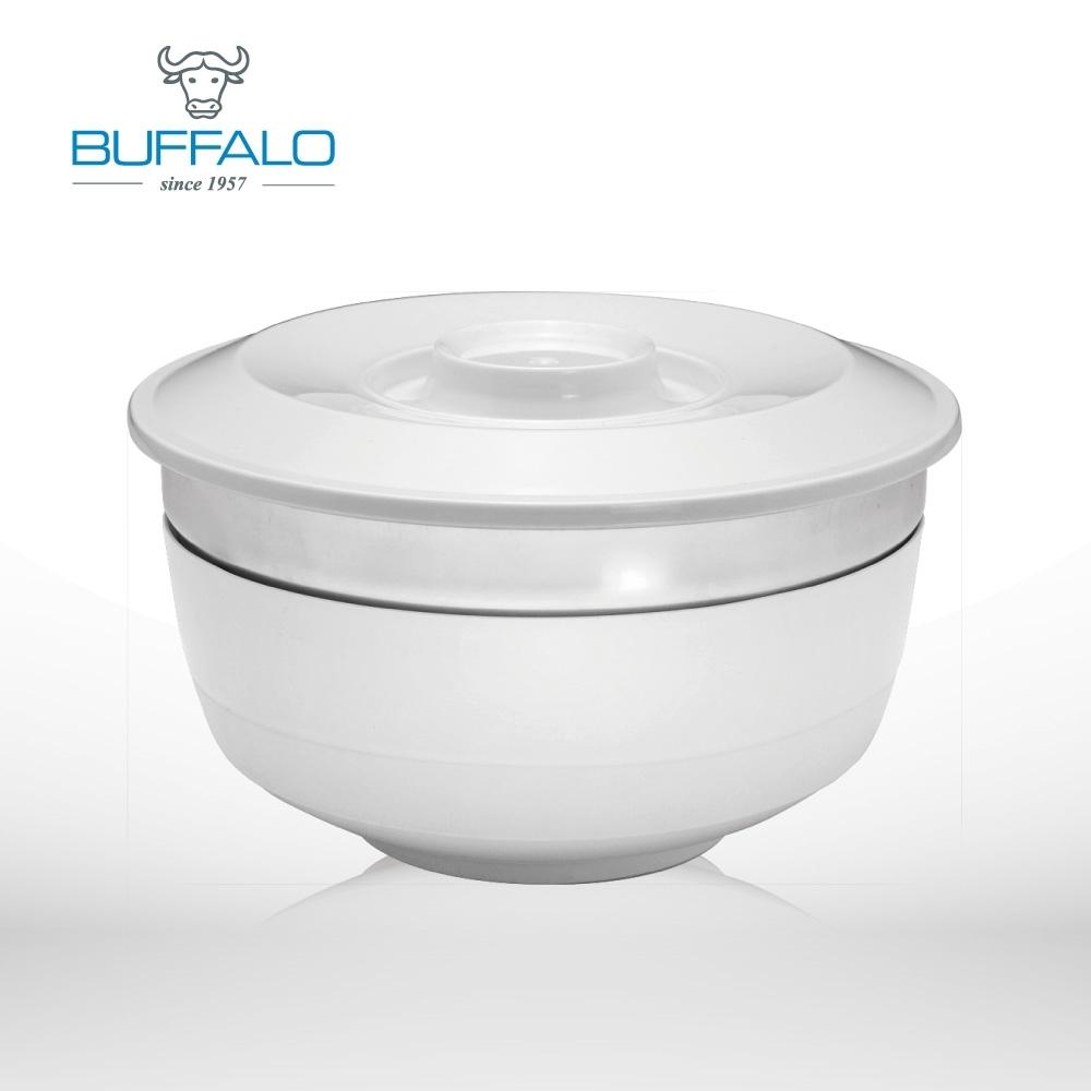 牛頭牌 環保隔熱兩用碗1.1L / 單入-白色(快)