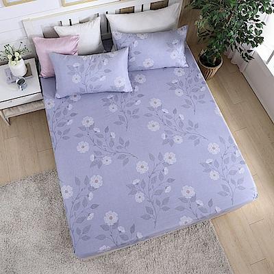 岱思夢 單人加大天絲床包枕套二件組(3M專利吸濕排汗技術)盛夏派對-灰
