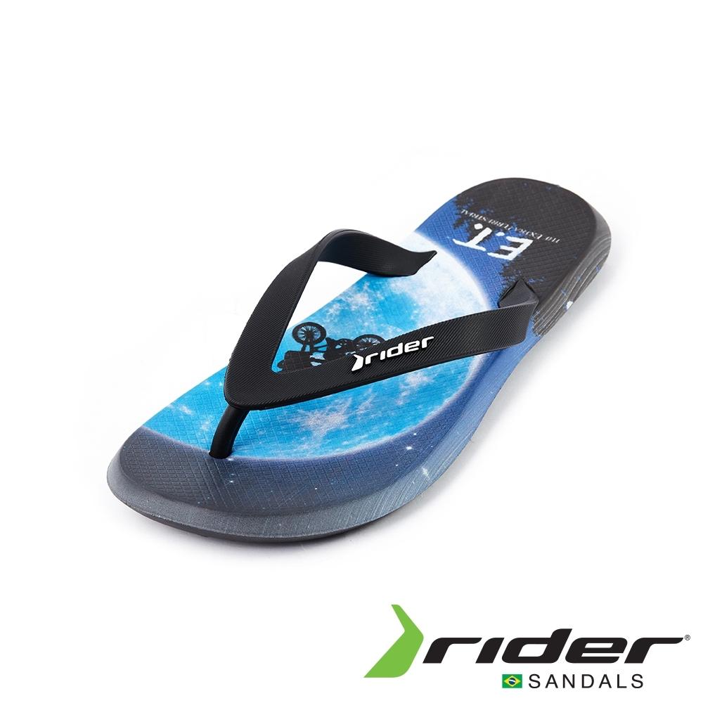 Rider BLOCKBUSTER系列人字夾腳拖鞋(男款)-藍