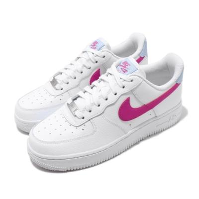 Nike 休閒鞋 Air Force 1 07 運動 女鞋 經典款 AF1 簡約 舒適 球鞋 穿搭 白 粉 CT4328101