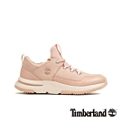 Timberland 女款淺粉色磨砂革運動鞋|A22RM