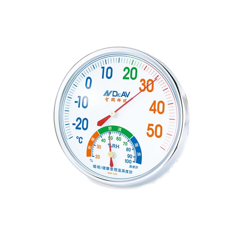 環境健康管理溫濕度計 GM-125 (2入組)