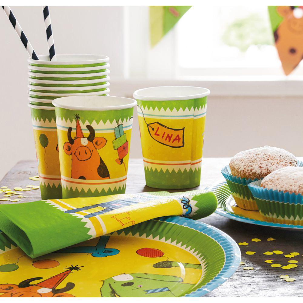 JAKO-O 德國野酷 可愛動物生日派對組-共87件(聚會派對/兒童派對慶祝)
