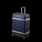 【日本製造PROTECA】雅緻-30吋經典復古行李箱(海軍藍)