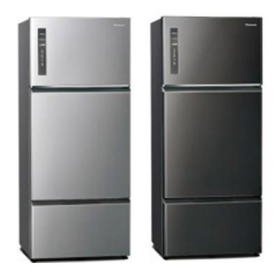 [館長推薦] Panasonic國際牌 481公升 台灣製 1級變頻ECONAVI 3門電冰箱 NR-C481TV-K 晶漾黑