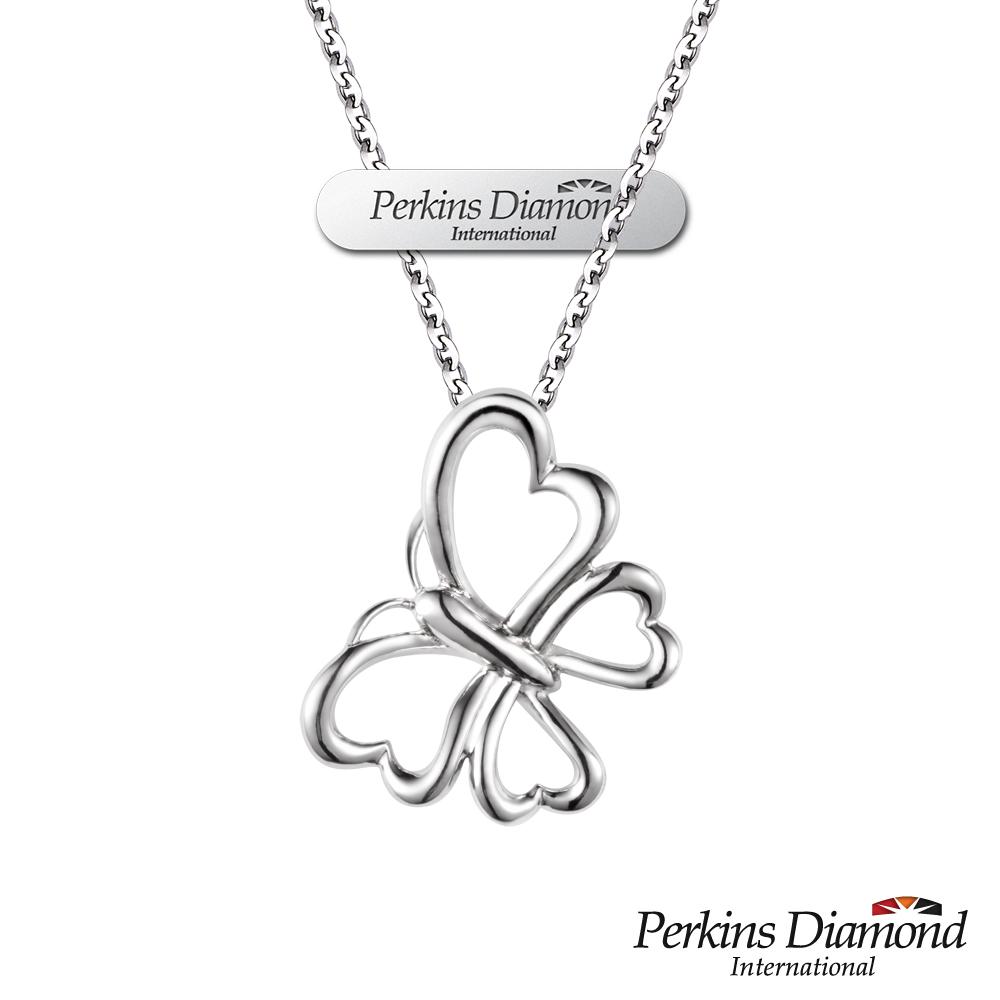 PERKINS 伯金仕-Flora系列Butterfly 925純銀項鍊