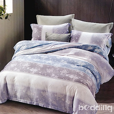 BEDDING-100%天絲萊賽爾-雙人薄床包兩用被套四件組-瑪麗-蘭