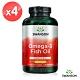 Swanson 斯旺森 檸檬風味OMEGA-3 魚油膠囊4瓶組(150顆*4瓶) product thumbnail 1