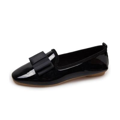KEITH-WILL時尚鞋館 時尚穿搭機能唯美主義樂福鞋-黑