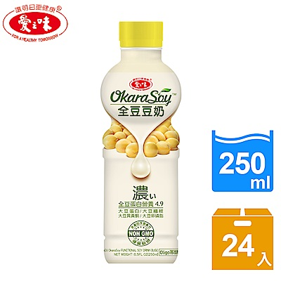 愛之味 全豆豆奶Oligo寡糖(250mlx24入)