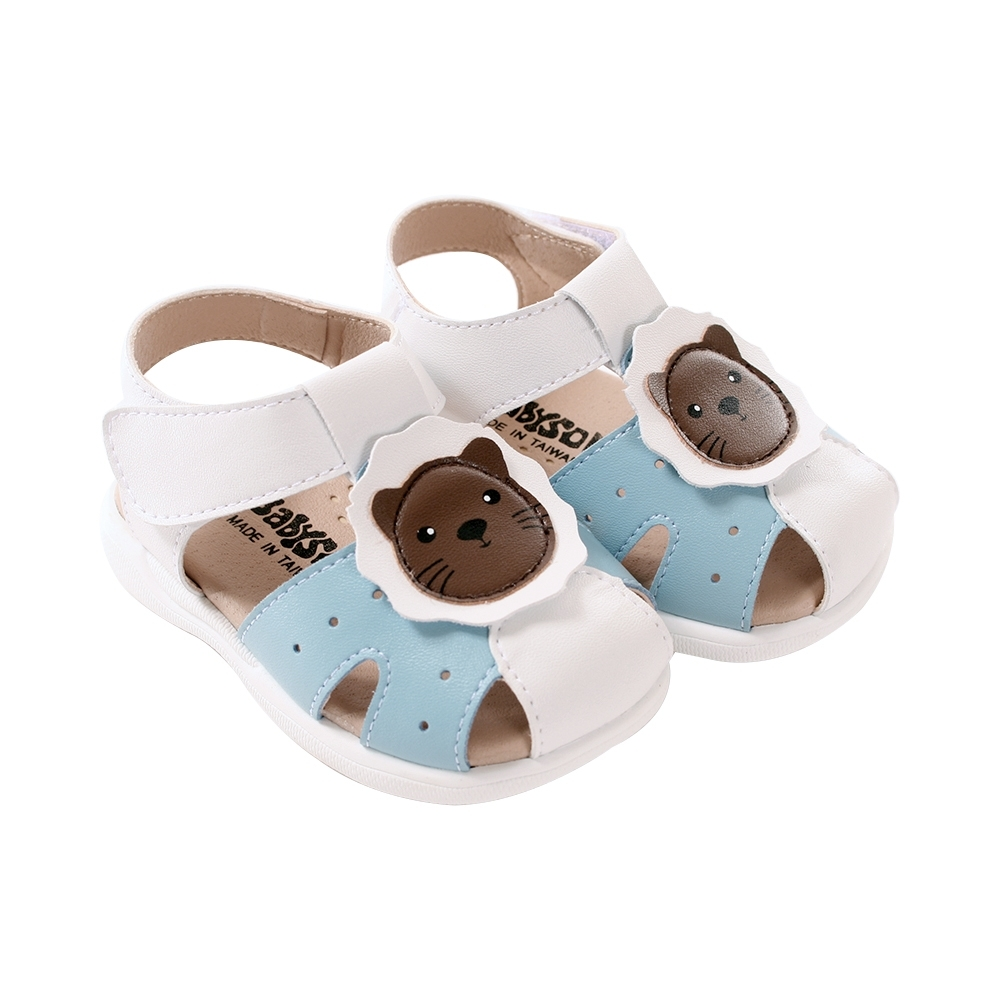 手工寶寶鞋 台灣製專櫃款幼兒手工涼鞋sk1035 魔法Baby