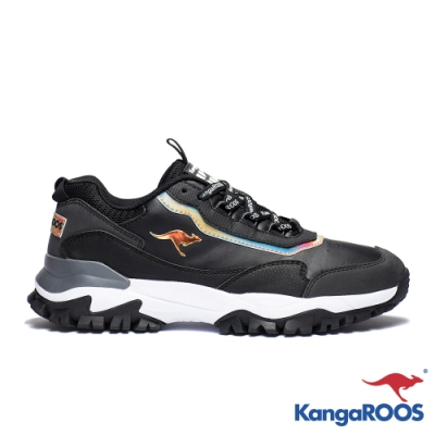KANGAROOS 男 NEON 越野老爹鞋(黑)