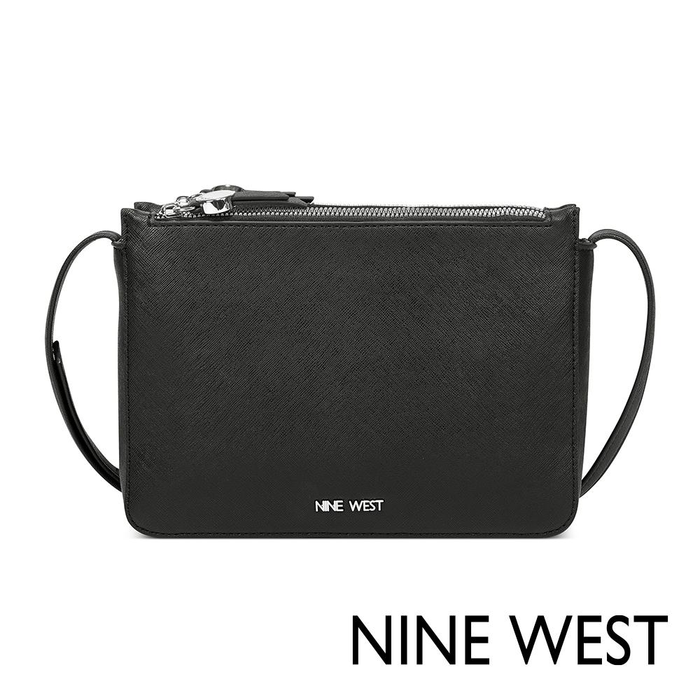 NINE WEST PROSPER雙層拉鍊小方包-黑色(503969)