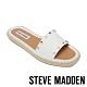 STEVE MADDEN-ST.JOHNS 平底編織涼鞋-白色 product thumbnail 1