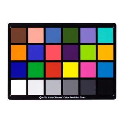 X-Rite校色卡白平衡卡ColorChecker Cassic(A4大小)