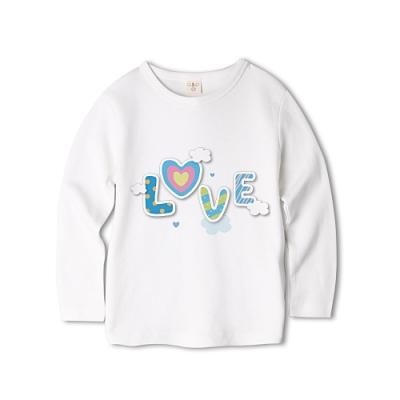Baby童衣 長袖上衣 獨家設計 趣味印花 純棉T恤 66346