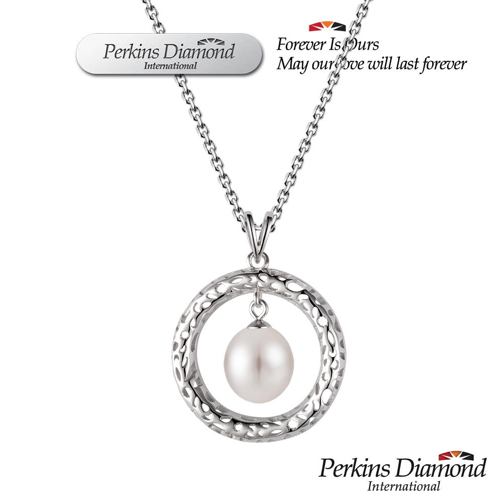PERKINS 伯金仕 8-8.5mm 天然淡水珍珠項鍊