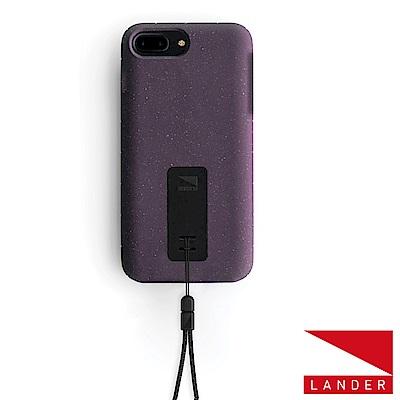 美國 Lander iPhone 8+ /7+ Moab 防摔手機保護殼 - 紫(附手繩)