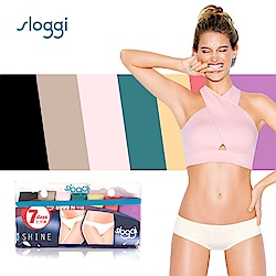 sloggi Shine低腰平口小褲7件促銷包 經典七彩