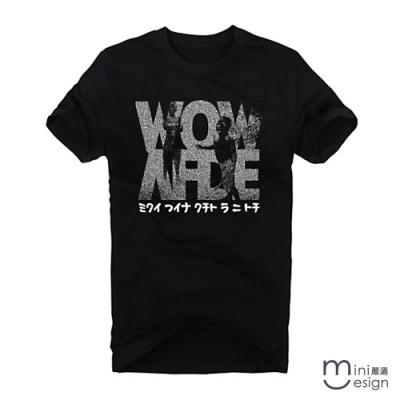 (男款)wow潮流短T 三色-Minidesign