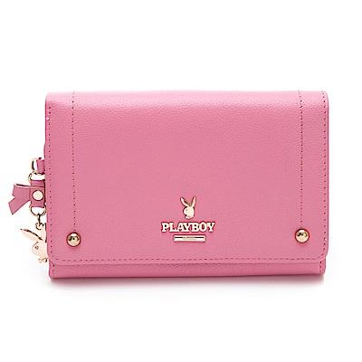 PLAYBOY- 中夾 星鑽系列 -粉色