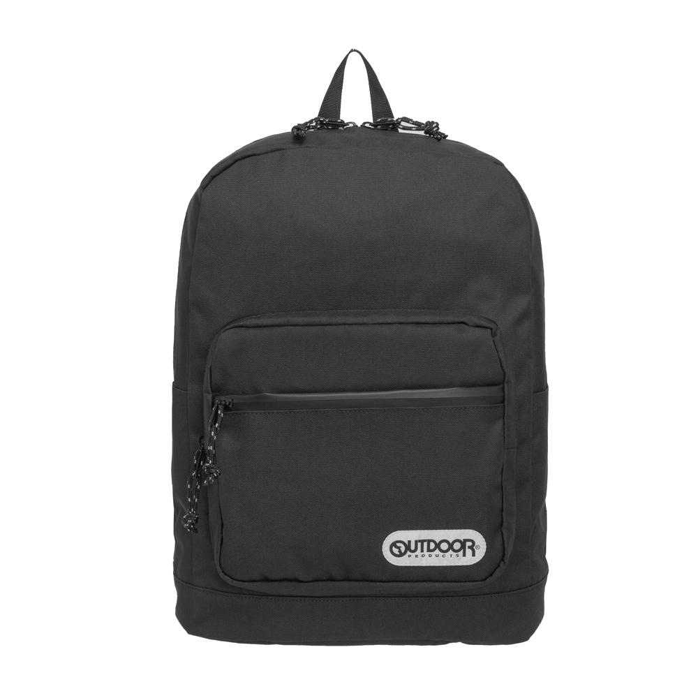 【OUTDOOR】極簡生活3.0-14吋筆電後背包-黑色 OD181131BK