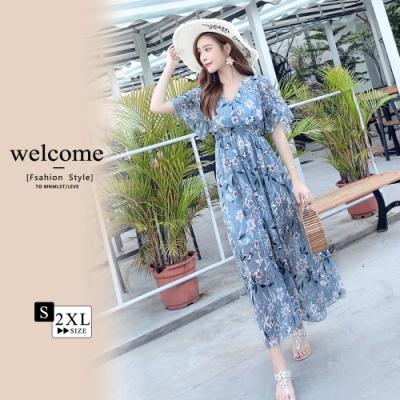 [時時樂]2F韓衣-韓系優雅氣質洋裝-6款任選(S-2XL)