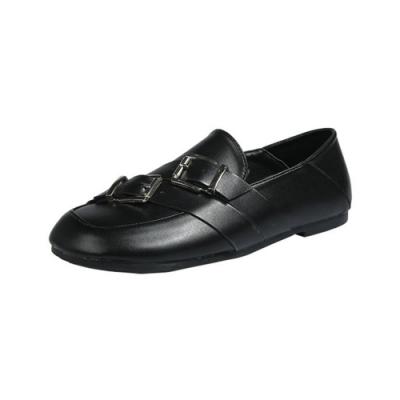 KEITH-WILL時尚鞋館 輕柔寵愛造型樂福鞋-黑