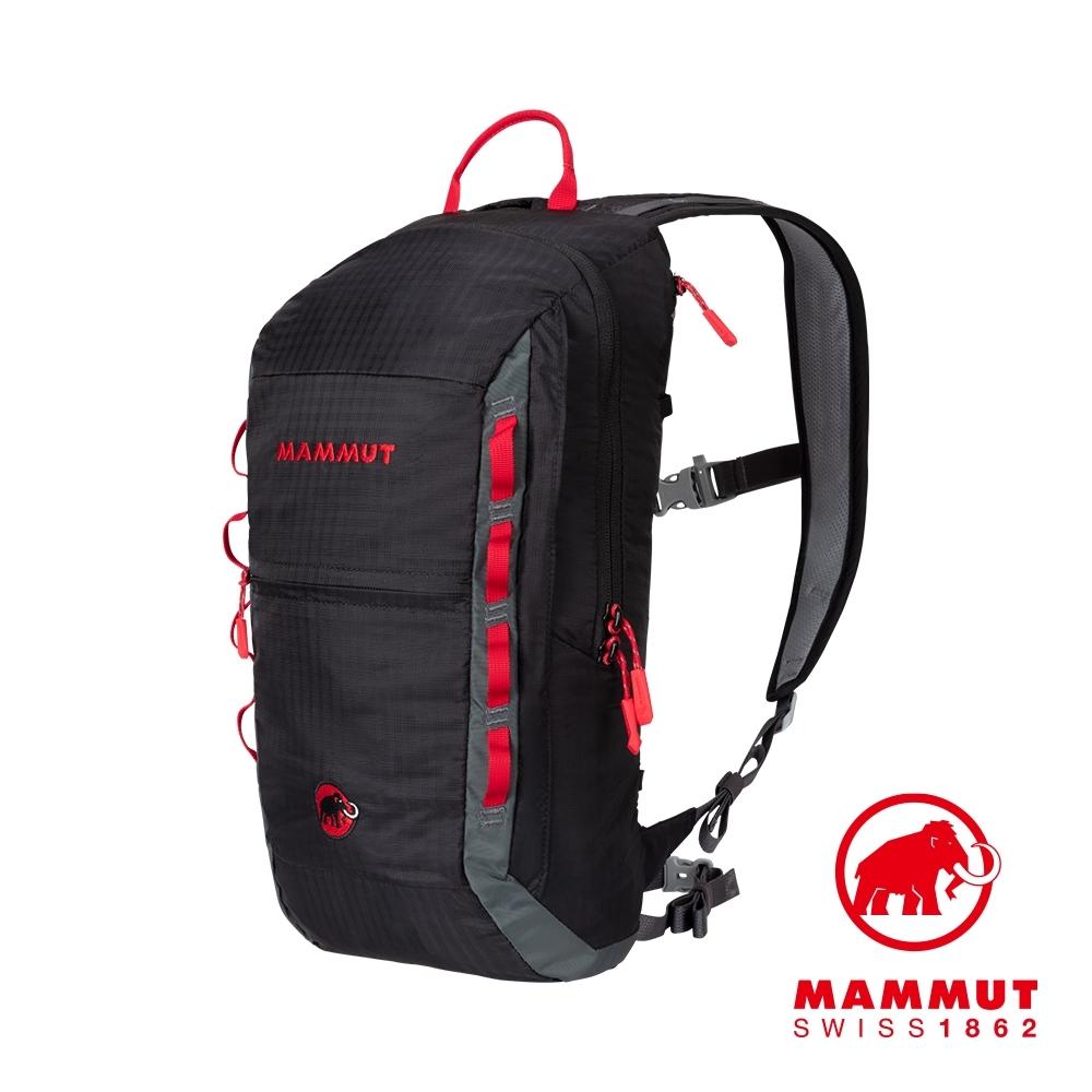 【Mammut】Neon Light 12L 運動休閒背包 黑色/煙灰 #2510-02490