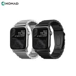 美國 NOMAD APPLE WATCH 不鏽鋼錶帶-42/44mm