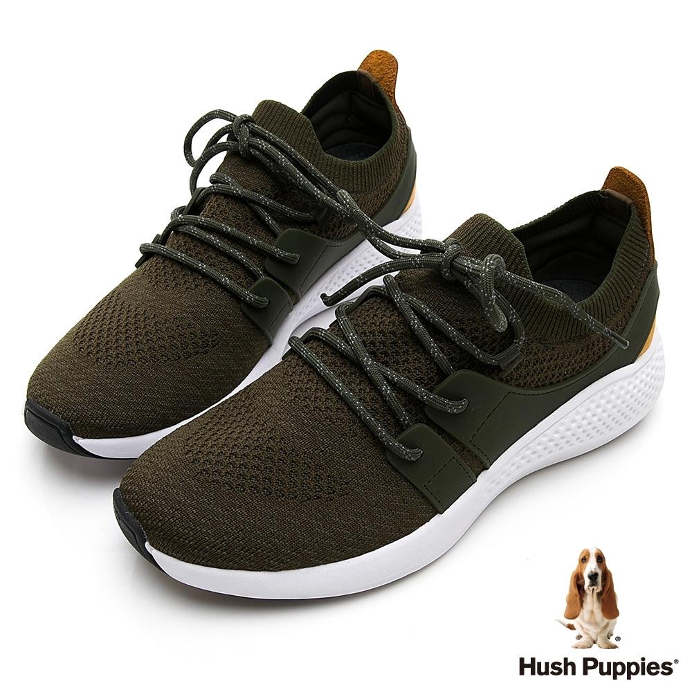 Hush Puppies Sockletweaver 男健步鞋-軍綠