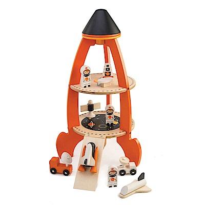 Tender Leaf Toys木製家家酒玩具-宇宙探險火箭場景玩具組