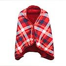 多用途刷毛加厚保暖披肩懶人毯