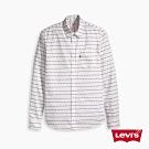 Levis 男女同款 休閒襯衫 / Logo 條紋