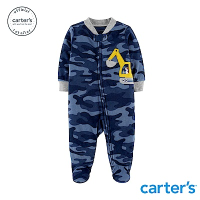 Carter's 迷彩挖土機連身裝