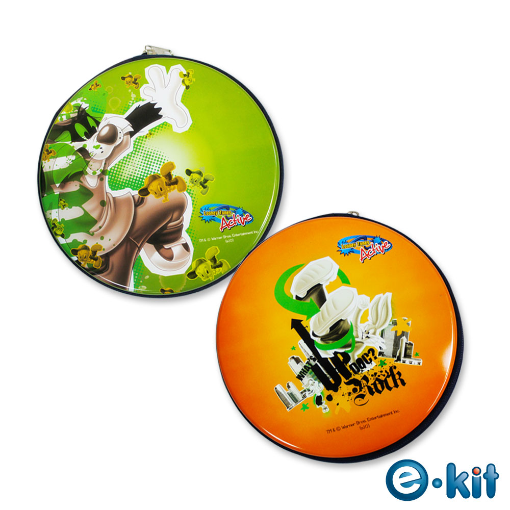 華納卡通正版授權CD/DVD 24片裝收納包-街頭Hit Pop風_*二組入*