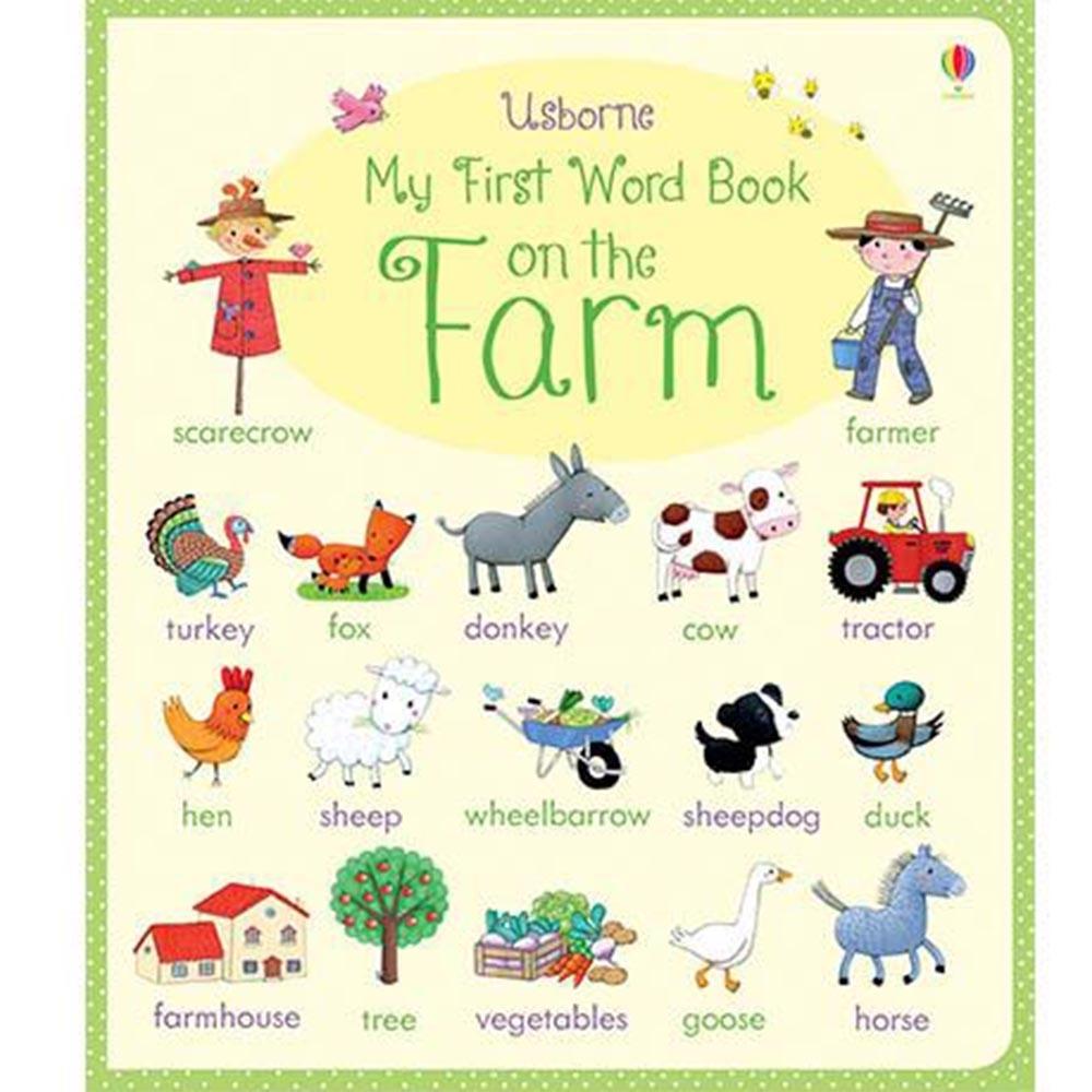 My First Word Book On The Farm 我的農場學習書