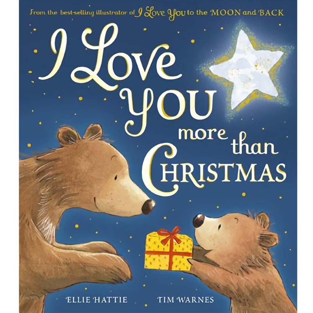 I Love You More Than Christmas 我對你的愛勝過聖誕節精裝繪本