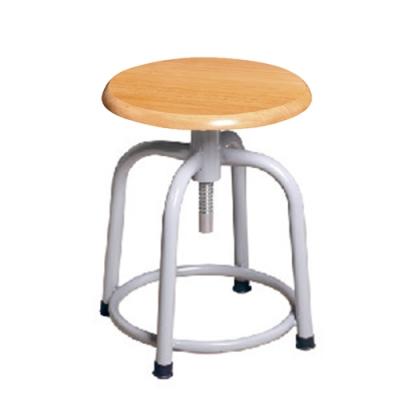 H&D 瑞士308螺旋升降板面灰腳椅